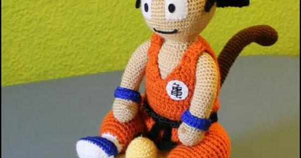 Amigurumi Dragon Ball Goku : epingle par Tats Keo sur Crochet Pinterest Toutous, Le ...