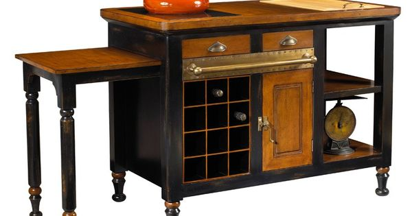 Expandable Kitchen Island Fabulous Furniture Pinterest