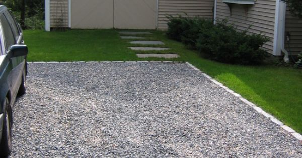 Architecture Mesmerizing Crushed Gravel Driveway Combined