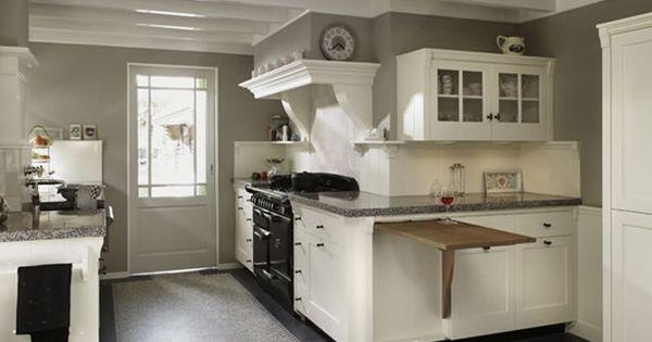 Een prachtig voorbeeld van een landelijke keuken van zwiers keuken pinterest keuken - Voorbeeld van open keuken ...