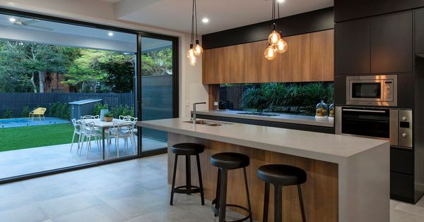 8 Amazing Kitchens featuring Caesarstone Concrete Designs  Kitchen  Pinterest ...