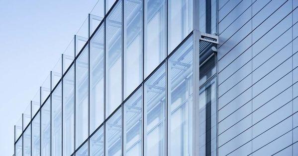 Glazed Aluminum Curtain Wall House : Curtain wall in aluminum and glass iguzzini