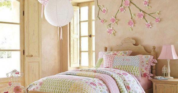 25 cute diy wall art ideas for kids room decoracion for Dormitorio kawaii