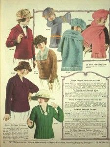 Ladies Colorful 1920s Sweaters and Cardigans History
