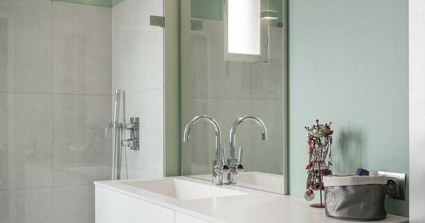R novation compl te d 39 un appartement des ann es 30 en for Cote maison salle de bain