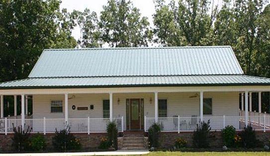 Metal home models assign commercial group jacksonville for Modern house jacksonville