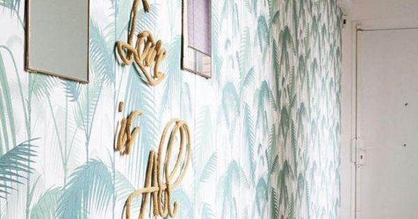 D co couloir long sombre troit 12 id es pour lui donner du style coulo - Papier peint couloir long ...
