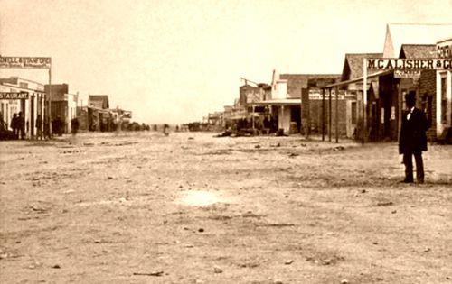 Main Street Of Tombstone Arizona In The 1880 S The Same