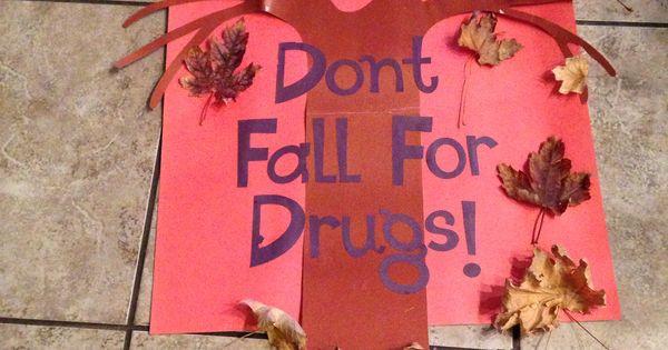 Drug Free poster - Red ribbon week   School ideas ...