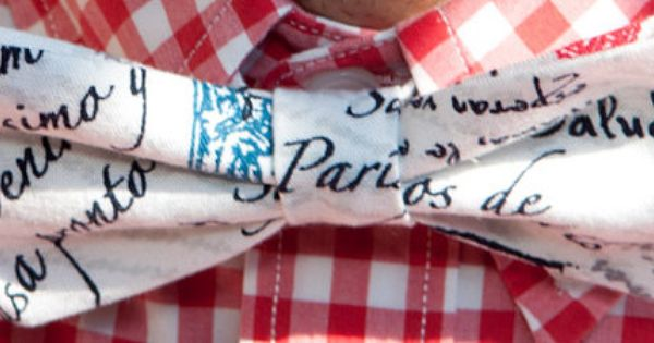 Bow tie - A Letter From Paris | Bow Tie Co. #bowtie