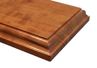 Large Roman Ogee Edge Profile For Wood Countertops Shown On Edge