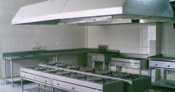 Equipos para gastronomia hornos para panaderia cocinas - Planos de cocinas industriales ...