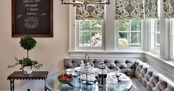22 stunning breakfast nook furniture ideas kitchen breakfast nooks french bistro and eat. Black Bedroom Furniture Sets. Home Design Ideas