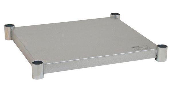 Eagle Group 2424gadjus Adjustable Galvanized Work Table Undershelf For 24 X 24 Tables Work Table Eagle Group Galvanized
