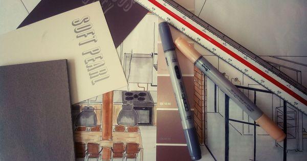 Pin van bruun interieurontwerp op eigen werk pinterest for Foto van interieurontwerp
