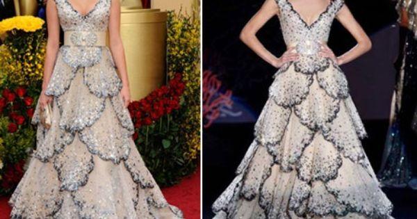 فساتين زهير مراد 2014 موديلات زهير مراد 2014 Zuhair Murad Dresses Oscar Dresses Dresses
