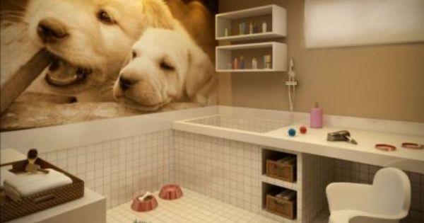 Pin De Mya Legaspi Em Pet Space Banho E Tosa Saloes De Tosa De Caes Loja De Animais