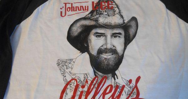 Vintage 80s gilley 39 s pasadena texas honky tonk baseball t for T shirt printing pasadena tx