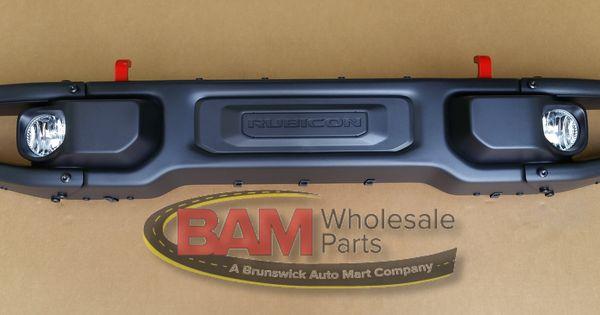 Brunswick Auto Mall >> 2007-2015 Jeep Wrangler Rubicon JK 10th Anniversary Bumper Front 82213653AB Mopar OEM ...