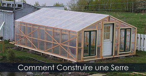 Amenager Une Serre Tablettes Amovibles Et Table De Culture Construire Une Serre Serre En Bois Comment Construire