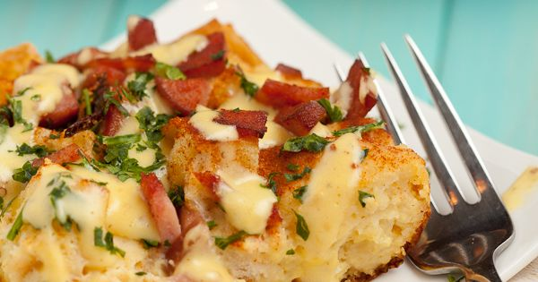 Eggs Benedict Casserole - This is a yummy egg bake or breakfast