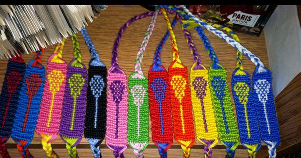 Lacrosse stick bracelets Lacrosse stick bracelets. love them