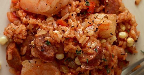 Shrimp & Andouille Jambalaya by spoonforkbacon | Easy Ways To Lose ...