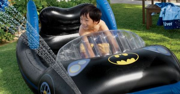 Batman™ Pool Pottery Barn Kids. Forget about it being for kids, I