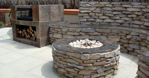 Braai pit sa style for the home pinterest cosy for Garden braai designs