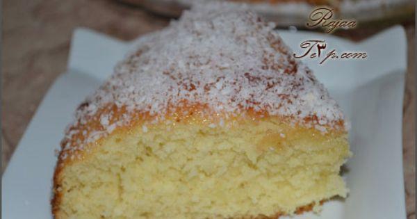كيكة جوز الهند Coconut Cake Desserts Vanilla Cake