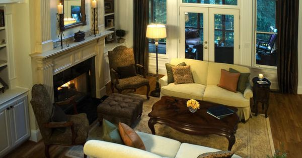Fireplace ideas living room pinterest traditional for Living room conversations