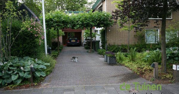 Voortuin met oprit ontwerp voorbeelden google zoeken garden pinterest - Grijze verf leisteen ...