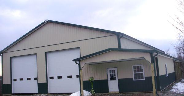 Building dimensions 50 w x 80 l x 16 6 h id 324 for Pole barn dimensions