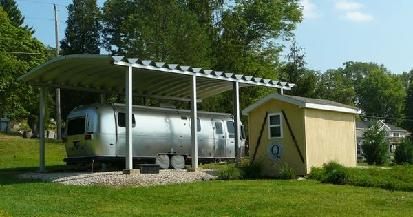 Rv storage buildings rv carports and sheds steelmaster for Rv storage structures