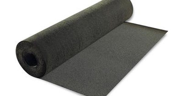 Ramps Can Be Slippery In Winter And Rain Use Roll Roofing