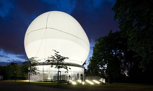 Serpentine Gallery Pavilion By Rem Koolhaas Daily Icon Temporary Architecture Rem Koolhaas Pavilion