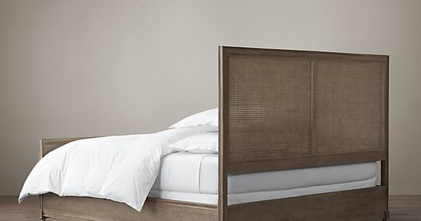 Maison Cane Bed With Footboard Cane Bed Bed Furniture Inspiration