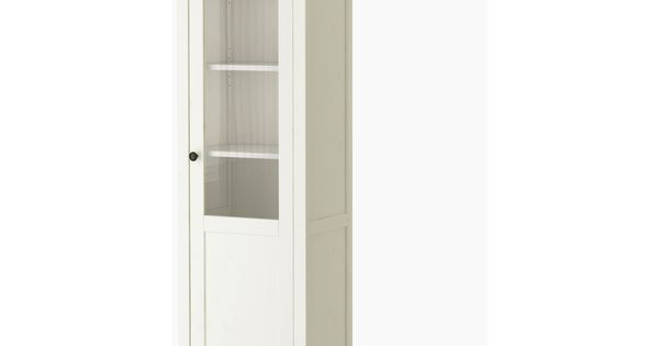 ikea cabinet hemnes cabinet with panel glass door white stain ikea 17554