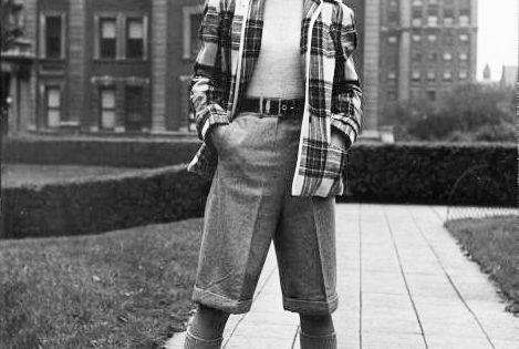 088cb8f91b3 Badass vintage street style summer tomboy jpg 469x315 Tomboy clothing 1940s