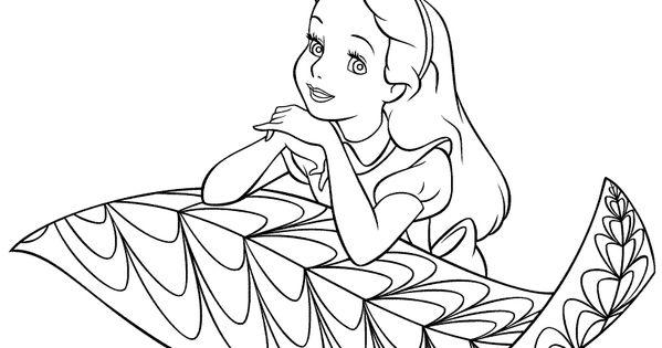 Dibujos Para Colorear Alicia 16: Printable Coloring Pages