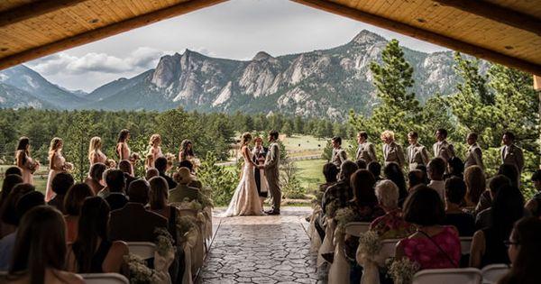 Scenic Mountainside Park Wedding In Colorado Rocky Mountain National Wedding And Rocky Mountains