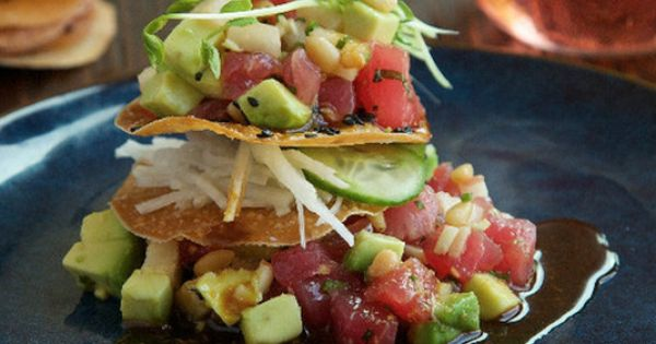 Ahi poke, The chef and Cities on Pinterest