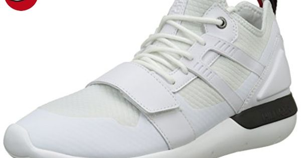 B2385olt 1c, Sneakers Basses Homme, Blanc (White 100), 44 EUTommy Hilfiger