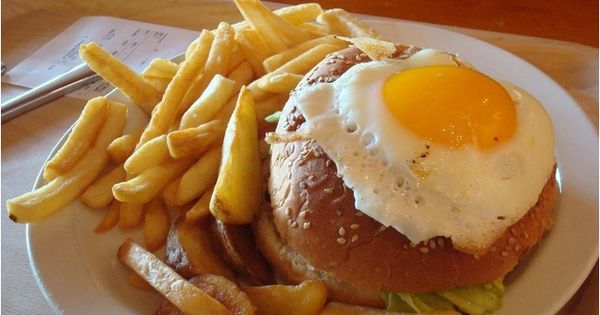 ... Hamburger with an egg on top.' Iceland... | Hamburgers, Eggs and D