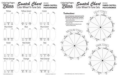 Fashion Blank Color Wheel Primary Secondary Math The Secrets To