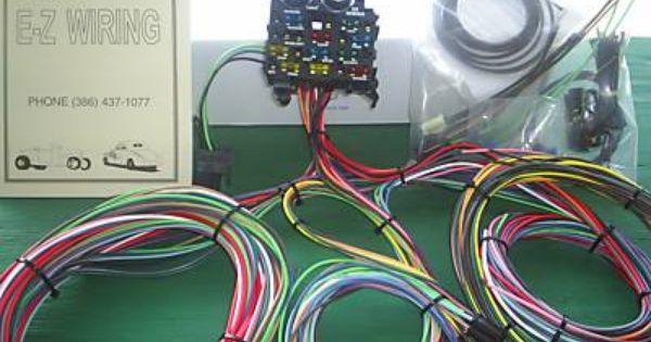 Ez Wiring 12 Circuit Standard Panel Wiring Harness Harness Wire Toyota Corona