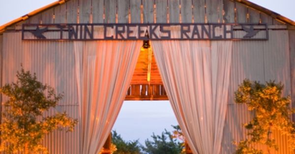 Barn Draping by Sasha Souza Events specialises in providing you with great