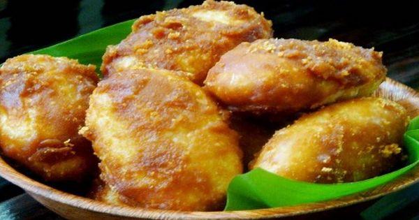 Kue Gemblong Ketan Putih Gula Merah Resep Makanan Ringan Manis Makanan Dan Minuman