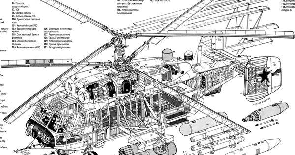 Ka29 Exploded Line Diagram [1952x1257] Militarian