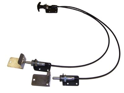 Dual Flexible Latch Control Cable